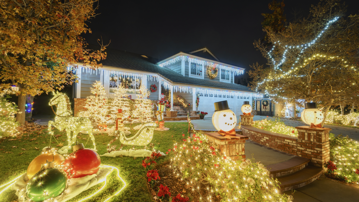 the best neighborhood christmas light displays in placer county - Bay Area Christmas Lights